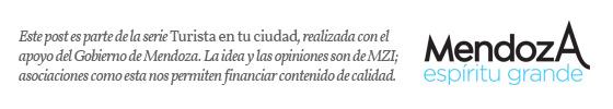 Aviso de auspicio Gobierno de Mendoza. Imagen